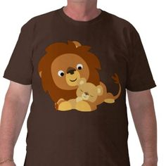 Lion template for Lukas's quiet book (kinda want this shirt too--by Cheerful Madness)