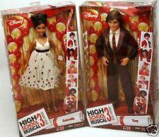 Disney HIGH SCHOOL MUSICAL 3 Dolls GABRIELLA TROY Prom