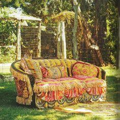 Gypsy: #Bohemian sofa.