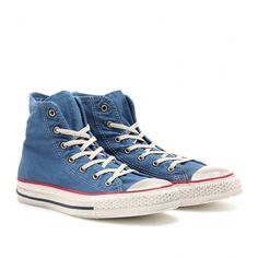 Converse Chuck Taylor Well Worn All Star High-Tops ($127) via Polyvore