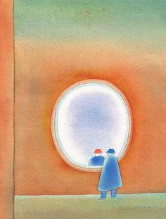 Miroir : Jean-Michel Folon