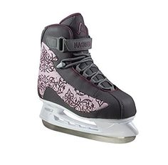 American Athletic Shoe Womens Soft Boot Hockey Skates Grey 8 *** Read more  at the image link. This is an Amazon Affiliate links.
