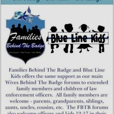 families behind the badge