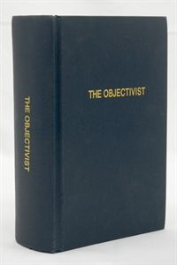 """Here are 69 issues of a monthly journal on the theory and application of Objectivism. This 1,120-page volume covers a fascinating range of issues -- from a radical analysis of the nature of concepts to a piercing description of life for dissidents in Soviet Russia, from an examination of the requirements of mental health to an intriguing explanation of why Calumet """"K"""" was Ayn Rand's favorite novel."""