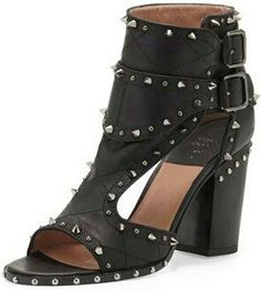 cebafe72eb6 Laurence Dacade Studded Two-Buckle Sandal