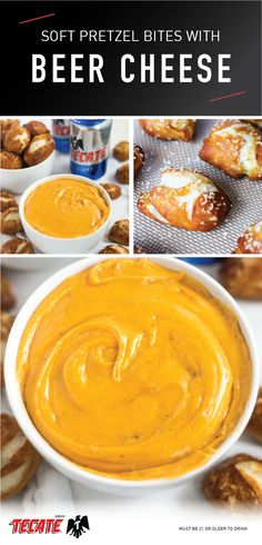 Soft Pretzel Bites with Beer Cheese Dip Homemade Pretzels, Soft Pretzels, Appetizer Dips, Appetizer Recipes, Baking Soda Bath, Beer Cheese, Cheese Dips, Good Food, Yummy Food