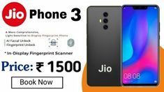 This Video is Jio Phone a phone with 📸 DSLR Camera and Price with jio phone 3 Launch Date, Jio Phone 3 Unboxing, Jio Phone 3 First look and . Mobile Phone Logo, Mobile Phone Shops, Mobile Phone Price, Latest Mobile Phones, Latest Cell Phones, Best Mobile Phone, Smartphone Price, Smartphone Covers, Mobile Technology