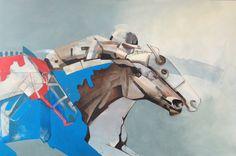Whisper the winner, painting, acrylic on canvas || Wyszeptaj zwycięstwo, obraz, akryl na płótnie
