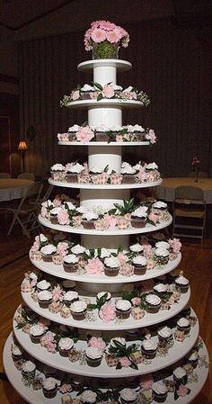 Eight Layer Cupcake Tree.....