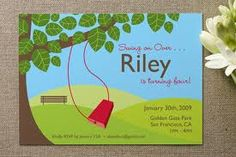Park party invitations