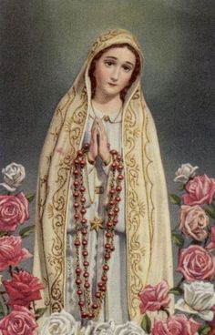 """ordopraedicatorum:  """" """"Who are you?""""  Mary answered: """"I am the Lady of the Rosary.""""  - Sr. Lucia  """""""