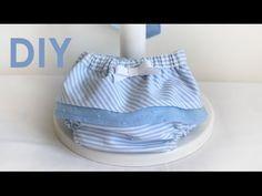 Braga pañal con volantes. Costura de bebés. - YouTube