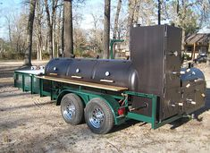 Custom BBQ Trailers, BBQ pits, and custom smokers built in Texas. At East Texas Smoker Co., our products are built to last and designed with you in mind. Bbq Smoker Trailer, Bbq Pit Smoker, Bbq Grill, Trailer Smokers, Custom Bbq Smokers, Custom Bbq Pits, Backyard Smokers, Outdoor Bbq Kitchen, Custom Trailers