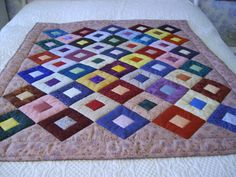 Cobblestones sent to America as a charity quilt
