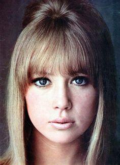 Pattie Boyd - 1960s. (Just like my sister...)