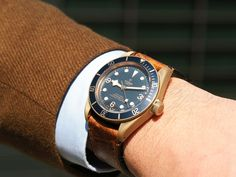 We were completely surprised by the Tudor Black Bay Bronze Blue, made in collaboration with prestigious retailer Bucherer.