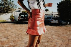 RED CROC MINI SKIRT Esquire, Crocs, Leather Skirt, Personal Style, Mini Skirts, Fashion Trends, Leather Skirts, Mini Skirt, Trendy Fashion