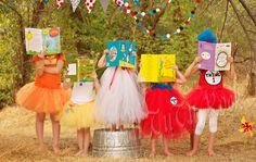 Seussette : Dr. Seuss The Cat in the Hat inspired Tulle Dress & Top Hat set l CUSTOM NB Infant Toddler Girl l by Born TuTu Rock. $55.00, via Etsy.