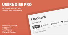 CodeCanyon  Usernoise Pro v4.1.6  Modal Feedback  Contact form