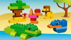 LEGO® DUPLO® - Creative Suitcase Build on the go with the LEGO® DUPLO® Creative Suitcase with decorated eye bricks, 2 wagon bases and lots of classic DUPLO bricks.
