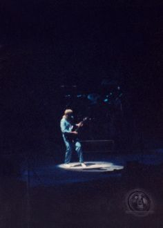 Pic I took back in 85' Power Windows Tour...Pretty cool shot I think!