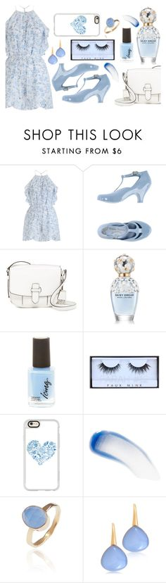 """""""blue heart"""" by lialicious ❤ liked on Polyvore featuring Zimmermann, MICHAEL Michael Kors, Huda Beauty, Casetify, Lipstick Queen, Latelita and Bucherer"""
