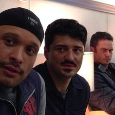 The boys. #ChicagoFire