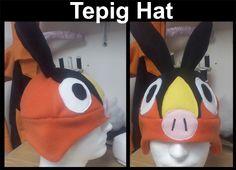 Idea for Tepig Halloween Costume