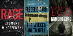 Books round-up: the best foreign crime fiction, including Umberto Eco and Yrsa Sigurdardottir | Books | Culture | The Independent