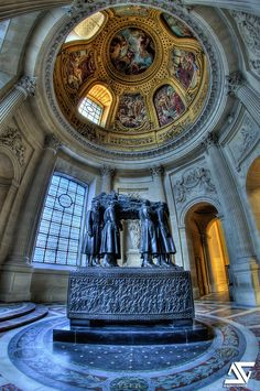 Marshal Foch's tomb | Les Invalides, Paris, France (HDR) My… | Flickr - Photo Sharing!
