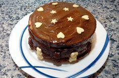 TARTA DE TRIPLE CHOCOLATE Pudding, Chocolate, Desserts, Food, Pies, Tailgate Desserts, Deserts, Custard Pudding, Essen