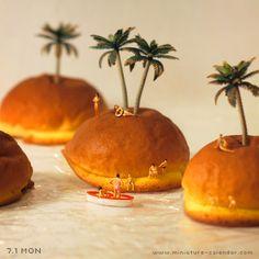 """""""Tropical Island"""" http://miniature-calendar.com/130701/"""