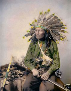 Little 1890 Oglala Sioux Native American Indian