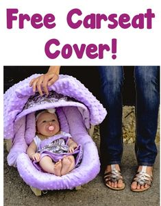 Free Carseat Cover! {just pay s/h} ~ these make great Baby Shower gifts, too! #baby