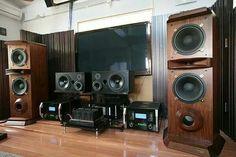 Westlake Audio speakers, McIntosh MC 201 monoblocs