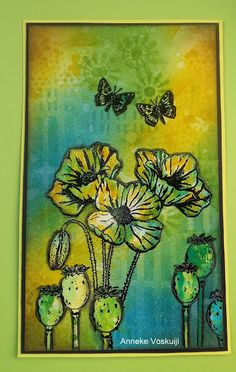 http://annekescardart.blogspot.ca/2016/05/poppy-with-butterflies.html