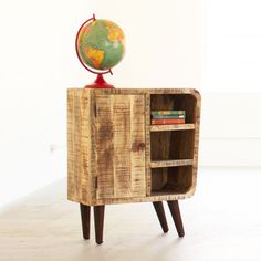 From This Angle Wood Cabinet | dotandbo.com