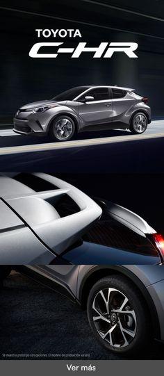 El nuevo Toyota C-HR fue diseñado para llamar la atención.