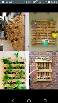 Beautiful DIY Vertical Pallet Garden Ideas That Will Save You Money And  Space