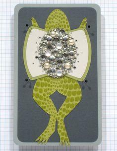 original paper cut - frog dissection