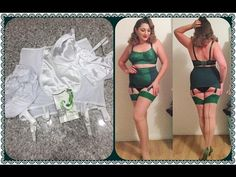 How to: Custom dye vintage/pinup style lingerie using iDye Poly - YouTube