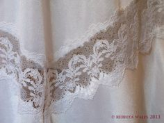 Vintage St. Michaels Half Slip/Waist by RebeccaWFrockShop on Etsy, £8.00
