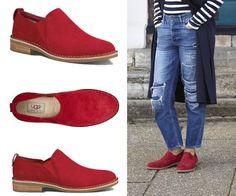 Chaussures Camellia (du 36 au 43), 120€ sur UGG Australia Camellia, Ugg Australia, Uggs, Espadrilles, Boots, Fashion, New Shoes, Fall Winter 2015, Espadrilles Outfit