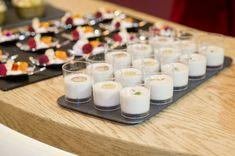 Ajoblanco Con Uvas - receta fácil - chupitos - aperitivo fiesta - Ajo blanco - coctel - desgustación - menú boda - celebración