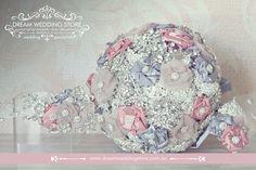 Brooch Bouquets, Handmade by Dream Wedding Store, Townsville, QLD (Australia) Phone. (07) 4431 0327. We post Australia Wide. www.dreamweddingstore.com.au