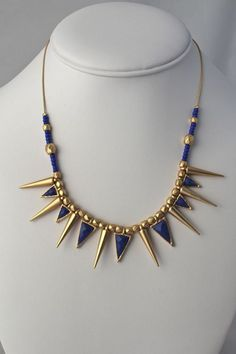 Spiked Tribal Necklace - Molly Suzanne