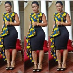 50 Fabulous Modern Ways to Wear African Fabric | Black Girl with ...