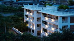 Cabochon Hotel & Residences | Aerial Exterior View of the Hotel | Gay Asia Traveler