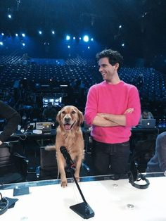 Mika and Mel in Milan at the XF8's rehearsal
