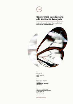 Poster by Xavier Esclusa Trias / Executive Meditation